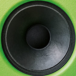 "The 15"" woofer delivers saturated bass frequencies."