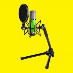 The Bonobo microphone is the perfect solution for podcasting